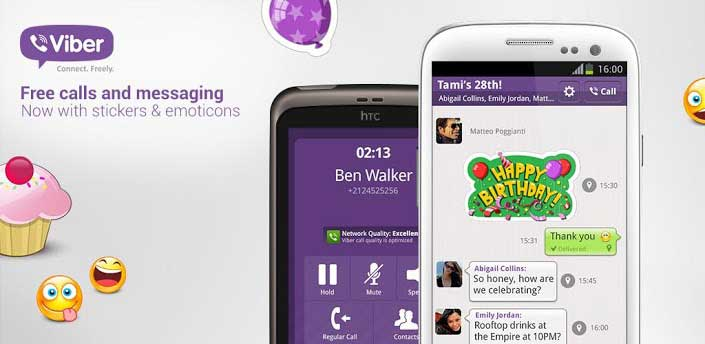 Viber - text messaging apps