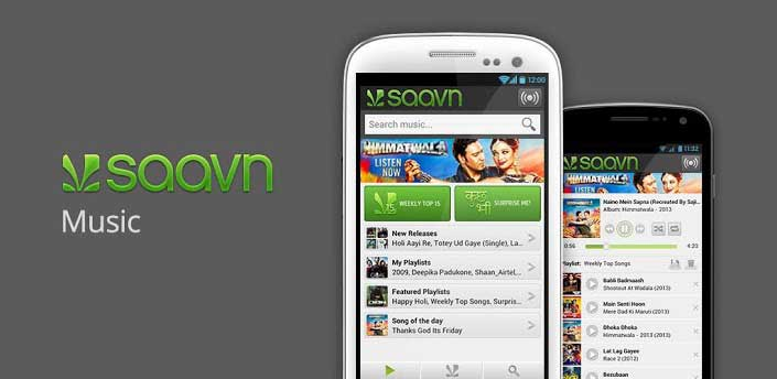 Saavn - Android-Music-Apps