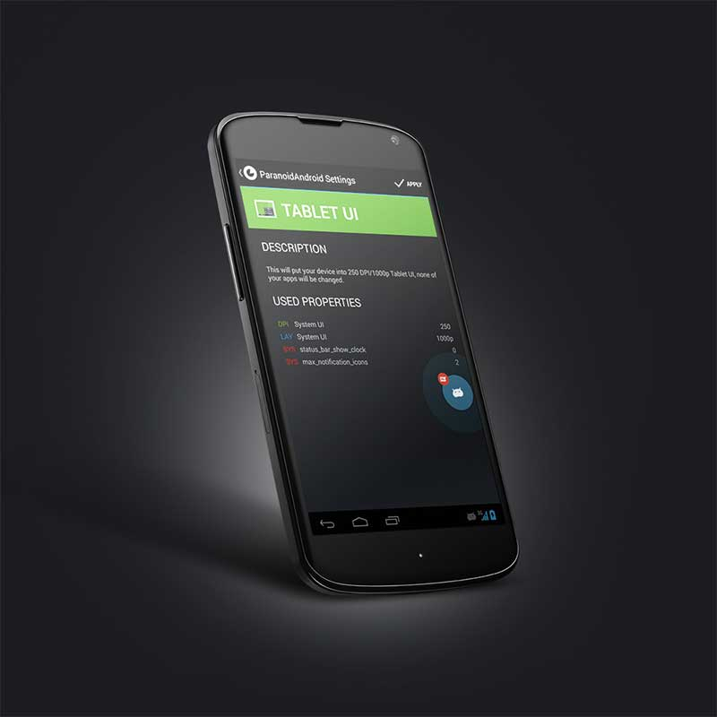 Paranoid Android - Custom Android ROMS