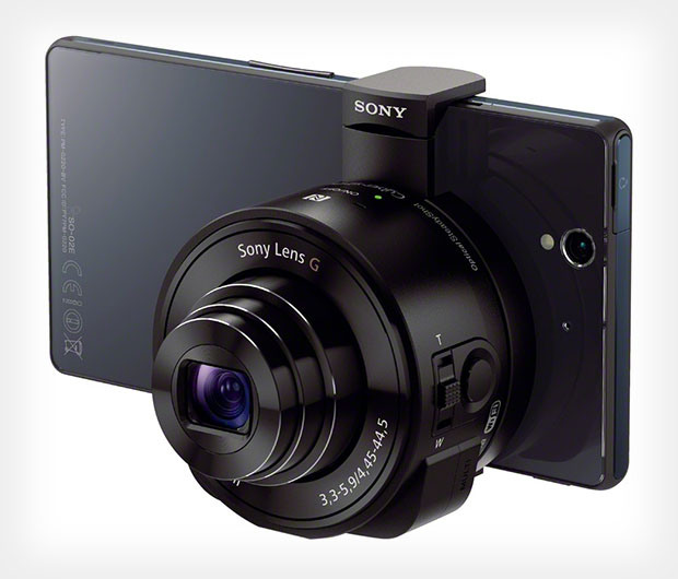 Sony Smartphone attachable lens