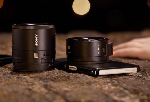 Smartphone attachable lens