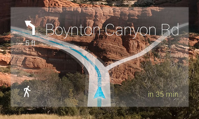 Navigation-Google-Glass