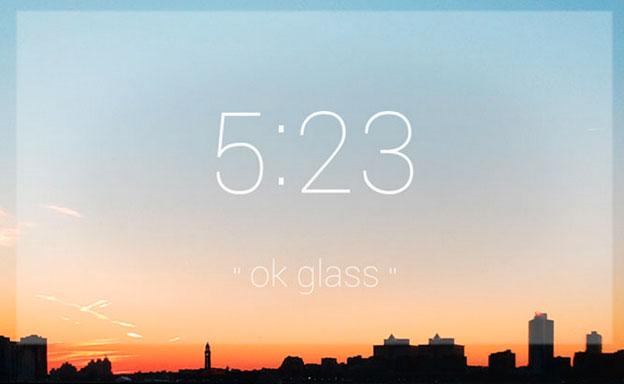 Time-Google-Glass
