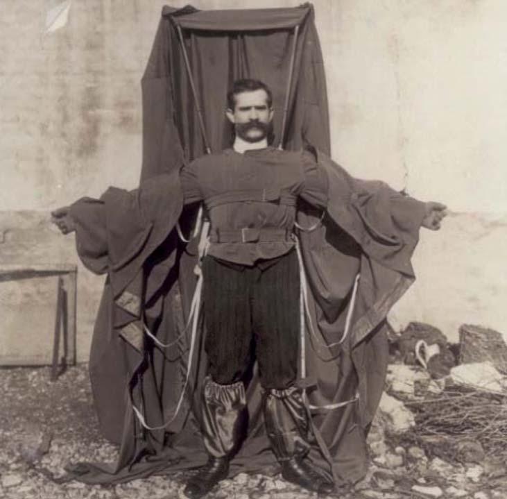Parachute-Jacket