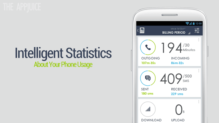 Intellistats, An Android App To Monitor Your Phone Usage