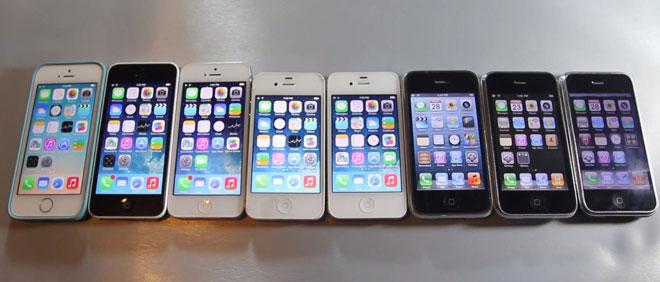 iphones-on-display