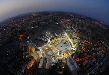 BEAUTIFUL view of the Kaaba Please LIKE & SHARE!