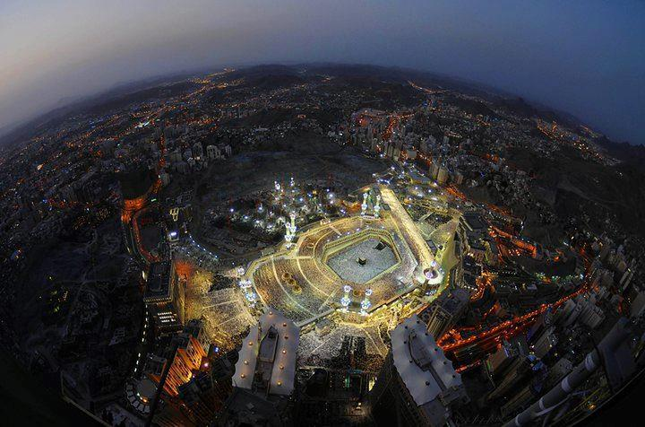 BEAUTIFUL view of the Kaaba Please LIKE & SHARE!