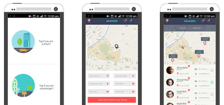 Web App for Pakistani Car-Pooling Service Savaree to Launch Soon