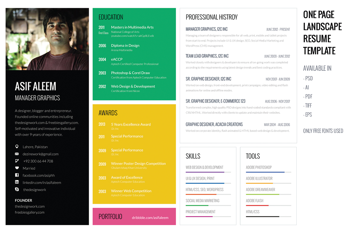15 exceptional resumes from all over the internet 13