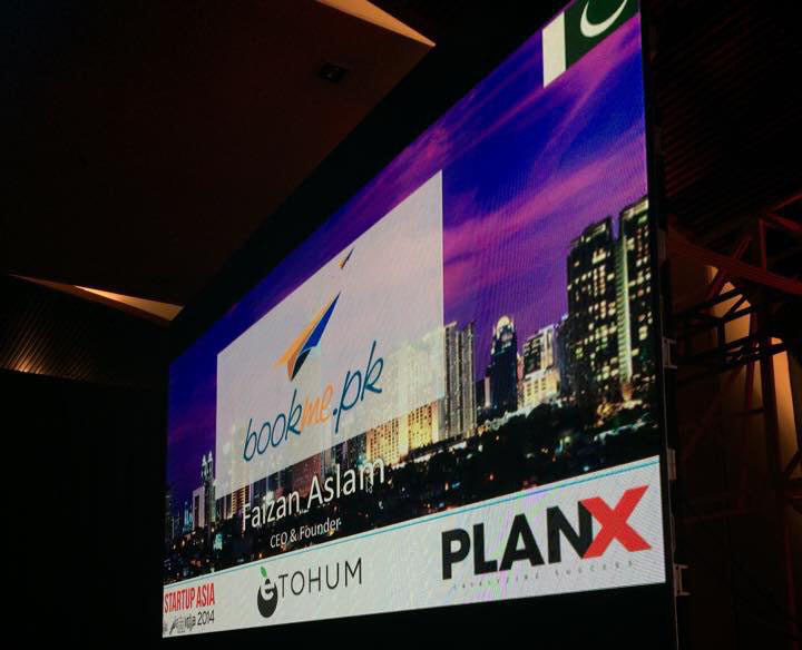 BookMe was selected as one of the top 9 startups from Asia at Startup Asia Jakarta 2014 event.