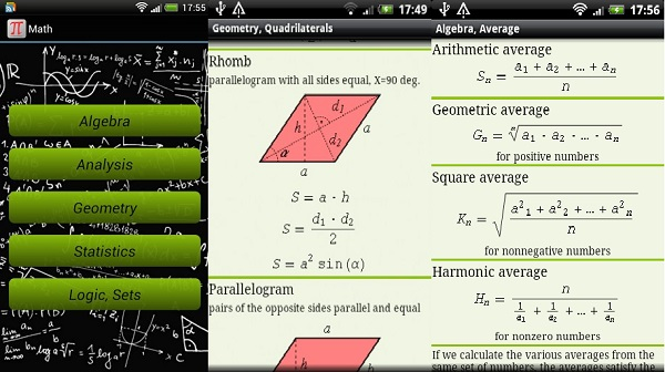 Math Formulas App For Students
