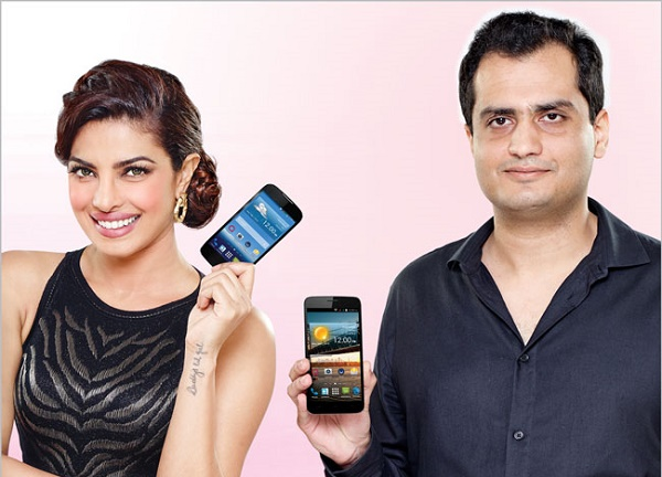 Q Mobile Bags Deal With Former Miss World 2