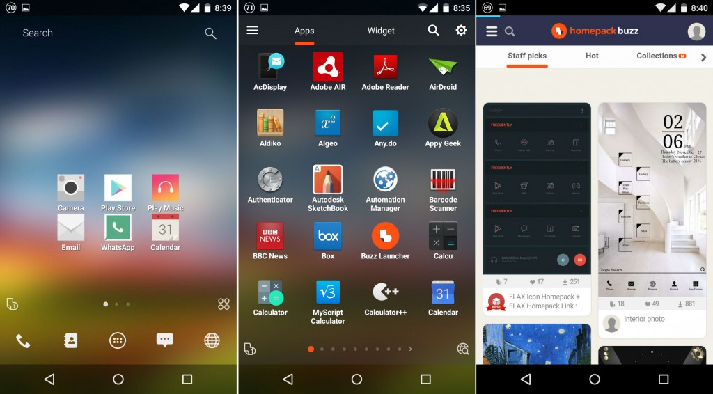 what is the best android launcher app for you