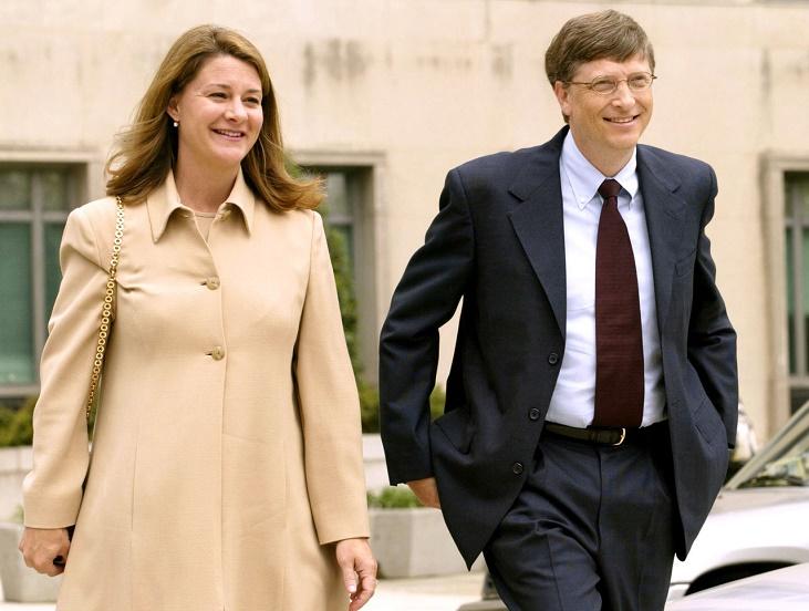 Post by Bill Gates.