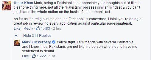 Mark Zuckerberg Speaks Against Extremism