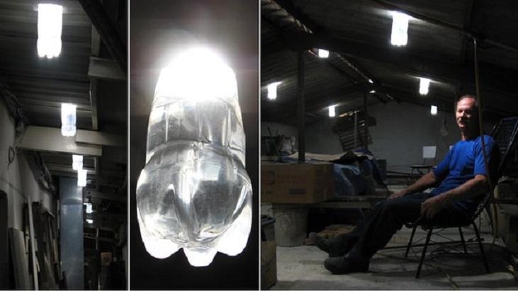 Bottle Lights For Electricity Alternative