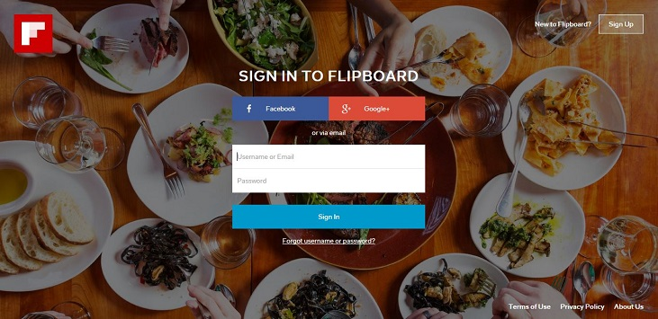 FlipBoard Launches A Website