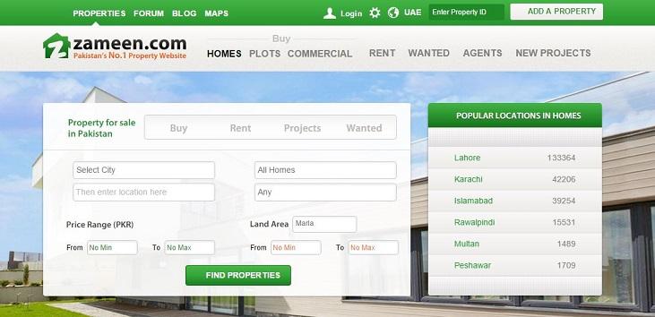 Zameen.com Hits 1 Million Mark