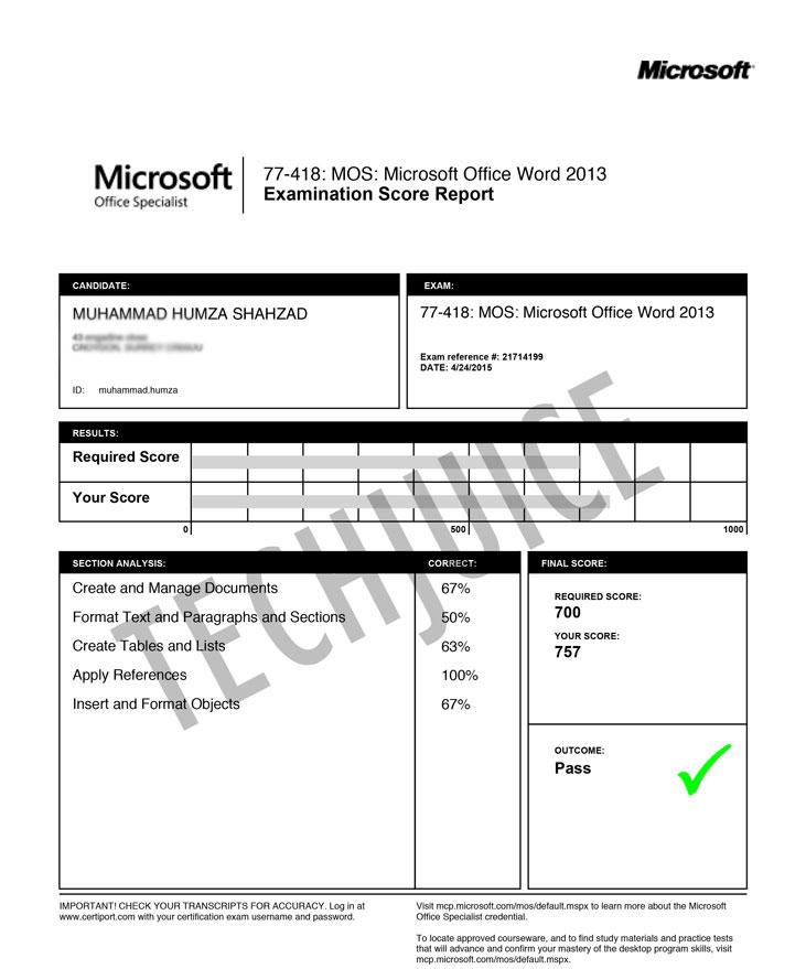 Detail-Exam-Sheet