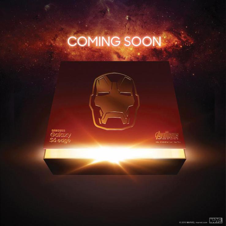 Iron Man Samsung Galalxy S6