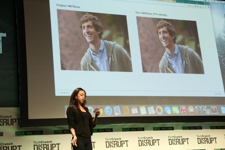 Piper Pied TechCrunch Disrupt 2015