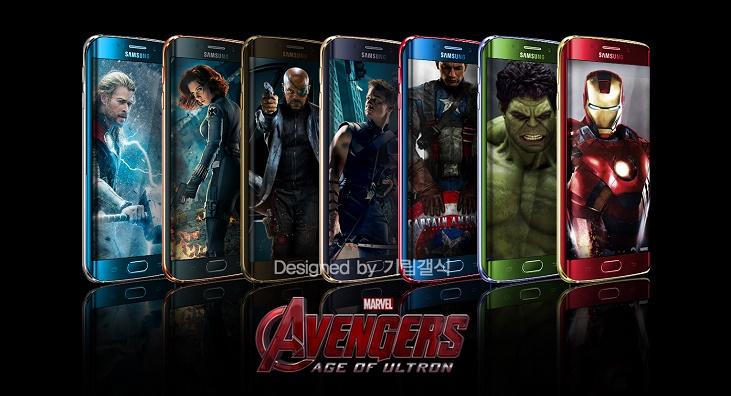 Samsung Galaxy S6 Marvel's Avengers Smartphones