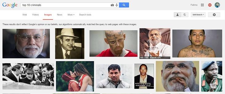 Top 10 Criminals Modi