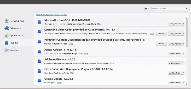 Disable Adobe Plugin In Chrome