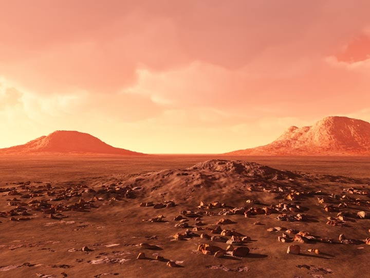 Enjoy a trip to Mars