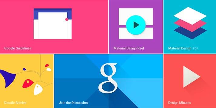 Google Rolls Out Material Design Lite For Website Templates - Google design templates
