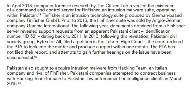 Pakistan Surveillance System 3
