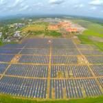 Cochina solar power plant
