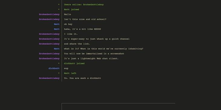 Hack Chat 1