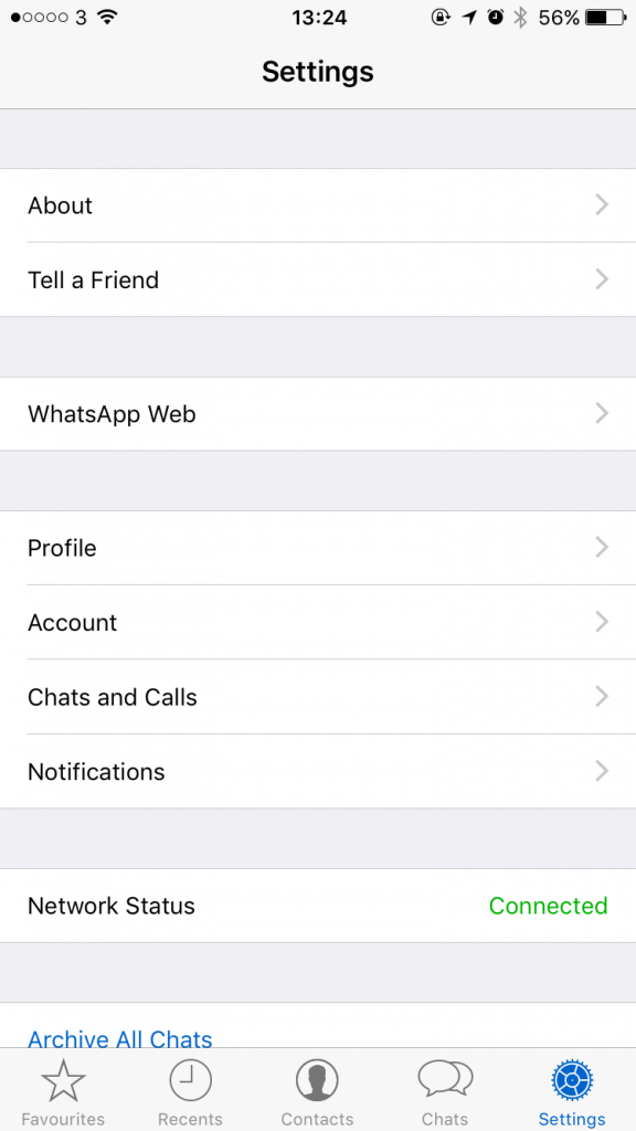 WhatsApp Web iPhone -2