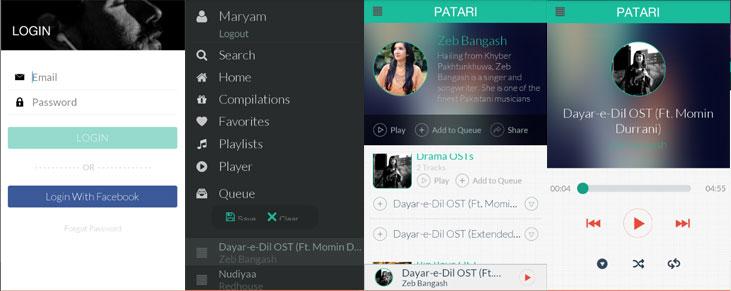 Patari---Screenshots