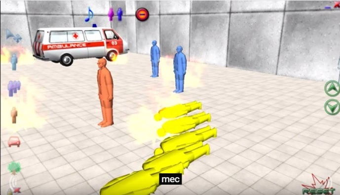 Simulationof SuicideBombingbyBlastSim