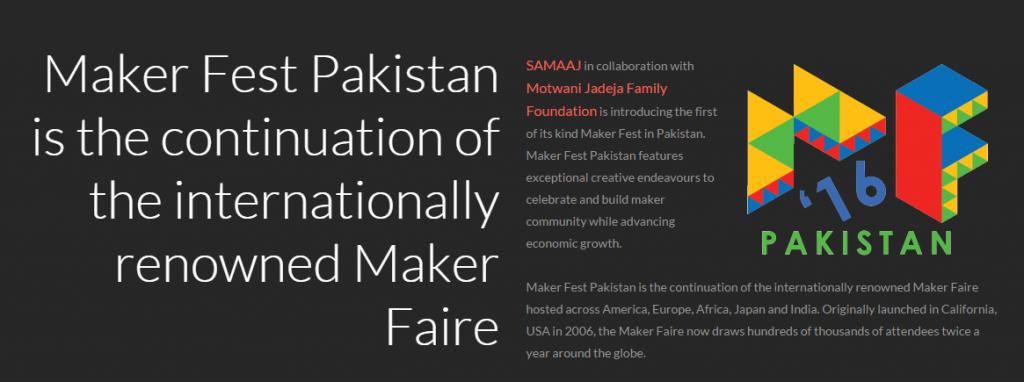 Maker Fest Pakistan
