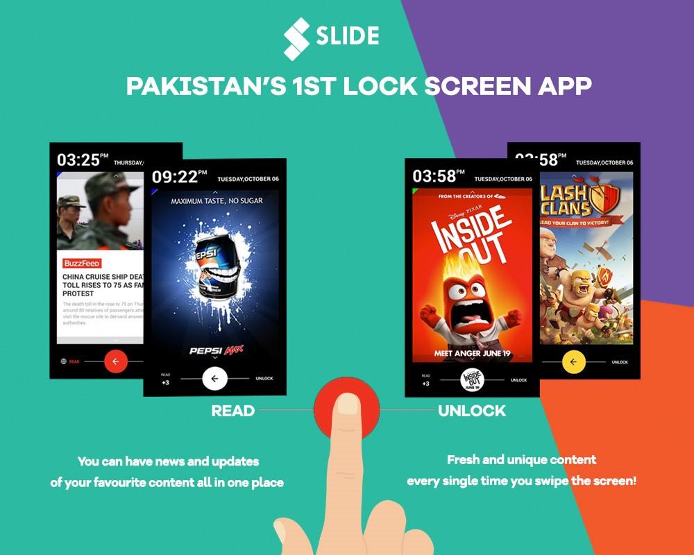 Slide Is A Pakistani News App For Your Lockscreen