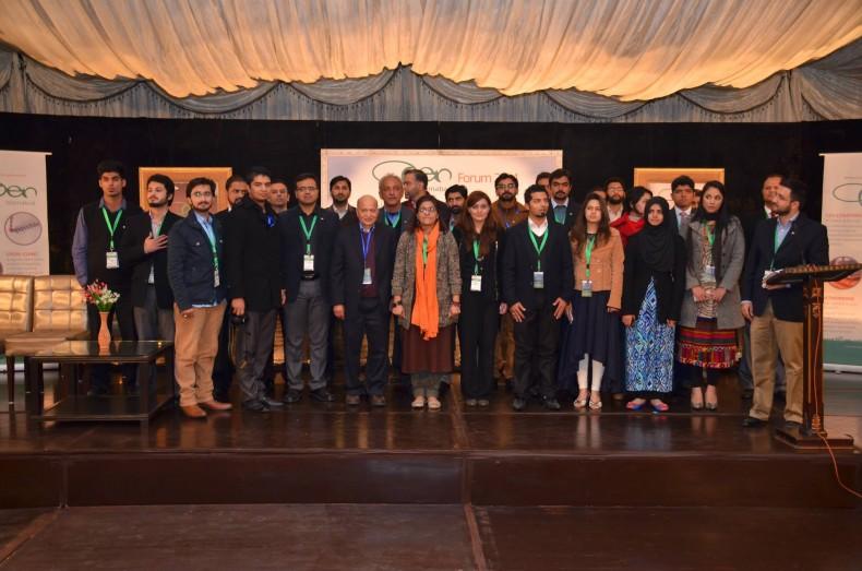 """OPEN's Annual Forum 2015, themed """"Apna Maqam Paida Kar"""""""