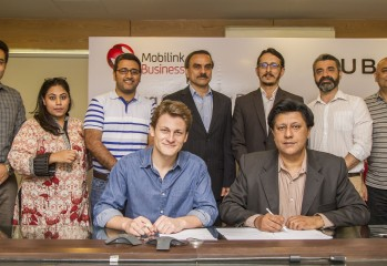 Picture For Mobilink Uber Signing