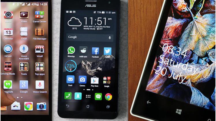 Smartphone QMobile