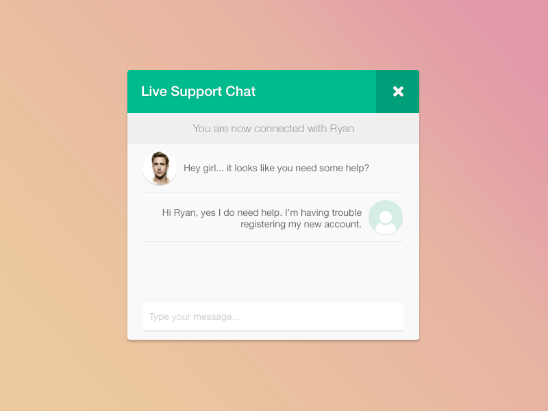 live-support-chat