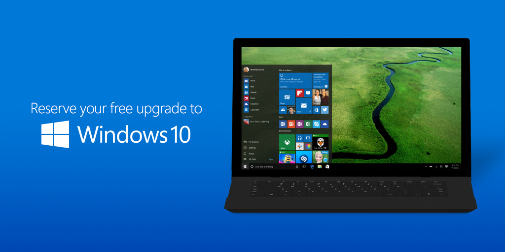 upgrade to windows 10 for free download