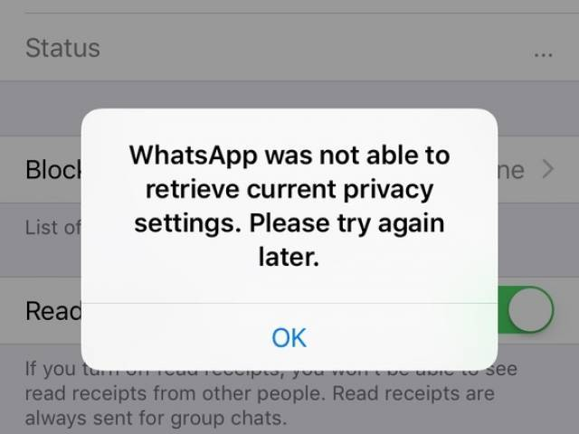 WhatsApp Down Pakistan