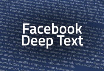Facebook Deep Text