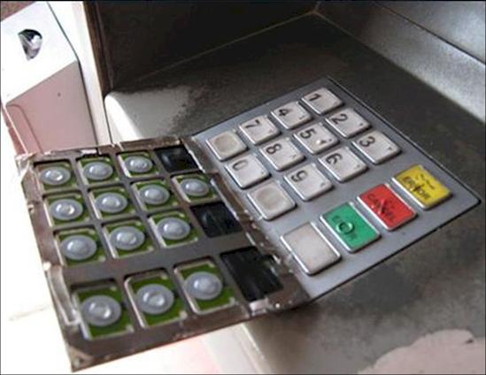 ATM skim