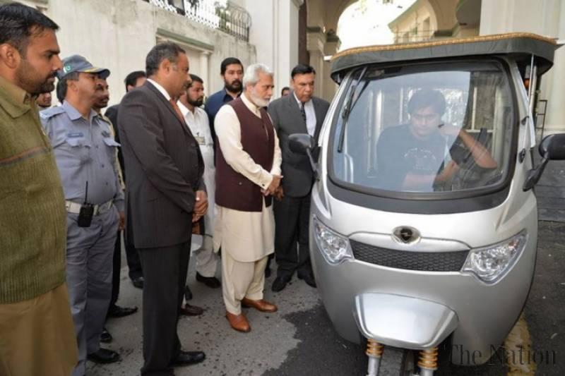 Solar Rickshaws