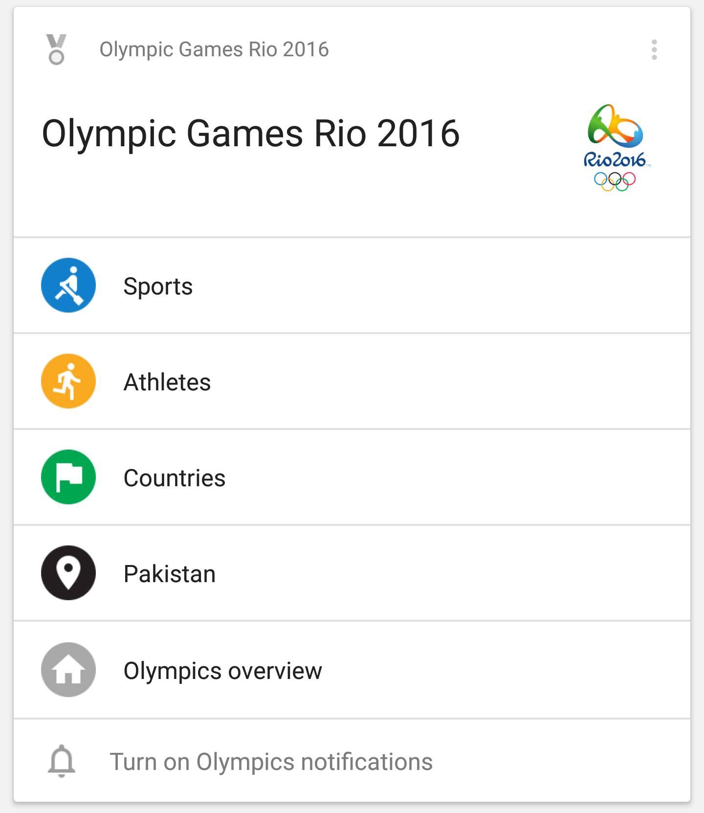 Olympics Google