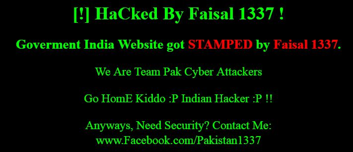 Hacked by Faisal